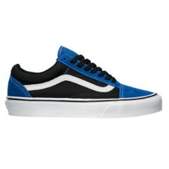 vans old skool nautical blue black