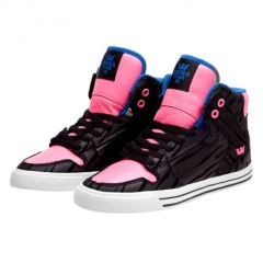 VAIDER black pink royal SUPRA GIRL