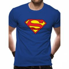 Superman Tshirt bleu