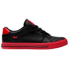 VAIDER LOW black red SUPRA