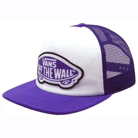 beach trucker purple