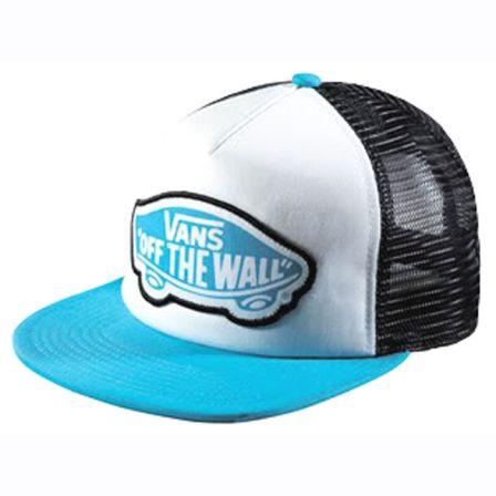 casquette vans bleu