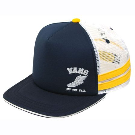 murck trucker blue yellow